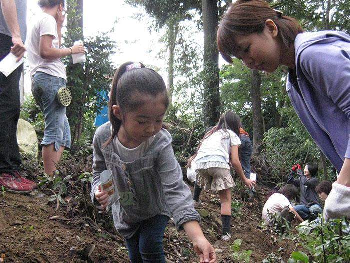 児童養護施設との里山開拓活動とそれを支える企業向け里山研修事業